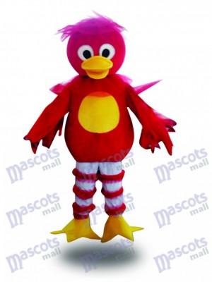 Pato rojo adulto Disfraz de mascota animal