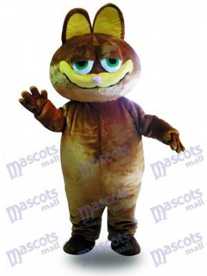 Gato marrón Disfraz de mascota Dibujos animados