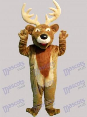 Ciervo alce navideño Disfraz de mascota animal