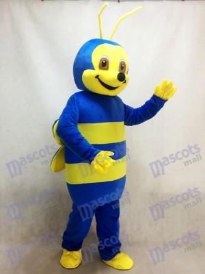 Preciosa abeja azul Disfraz de mascota