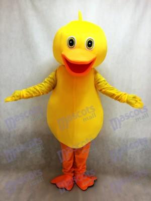 Pato amarillo grande Disfraz de mascota Animal
