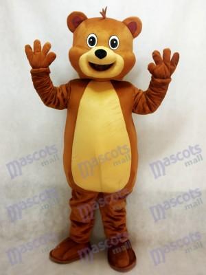 Ajuste oso pardo Disfraz de mascota