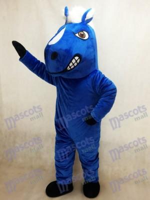 Caballo mustang azul real Disfraz de mascota animal
