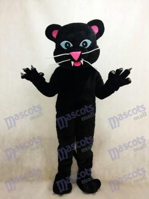 Pantera negra con ojos azules Disfraz de mascota