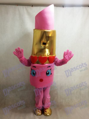 Shopkins rosa Lápiz labial Lippy Lips Disfraz de mascota