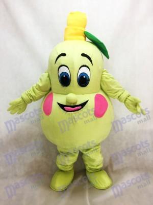 Pera fresca Mascota Traje Fruta