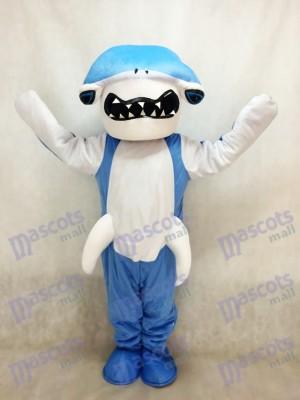 Tiburón martillo azul Disfraz de mascota