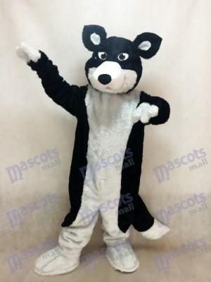 Border collie blanco y negro Perro husky Disfraz de mascota