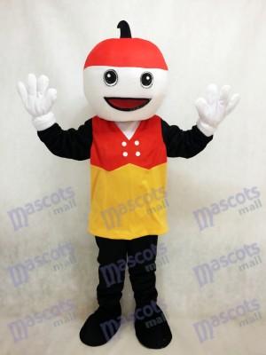 Sparky con el sombrero rojo Disfraz de mascota