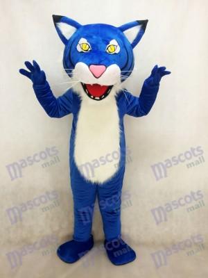 Gato montés azul real Disfraz de mascota