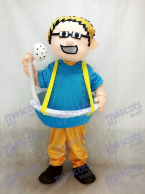 Bañera hombre más cabezal de ducha Disfraz de mascota