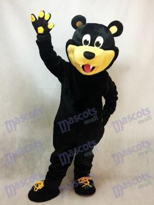 Oso marrón Estevan Bruins Hockey sobre hielo Disfraz de mascota