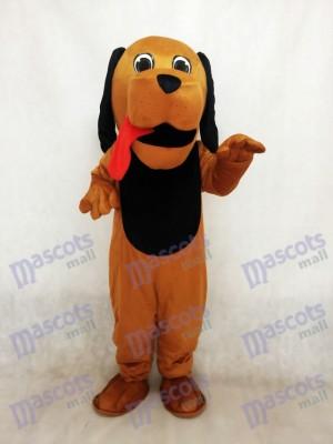 Perro Sabueso Lengua Roja Disfraz de mascota