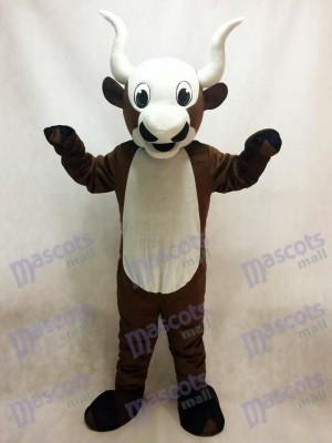 Yak con vientre blanco Disfraz de mascota