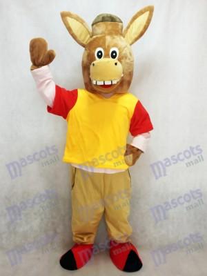 marrón Martin el burro Disfraz de mascota animal