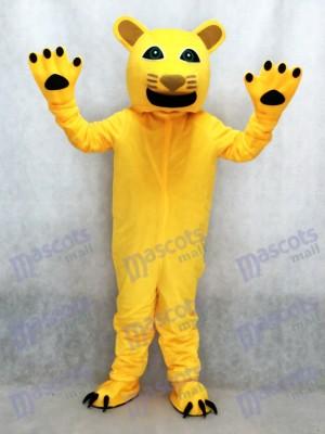 Nuevo Puma Amarillo Disfraz de mascota animal