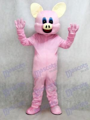 Cerdo rosa Disfraz de mascota animal