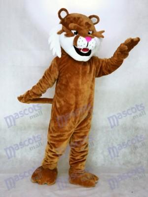 Tigre dientes de sable realista Disfraz de mascota animal