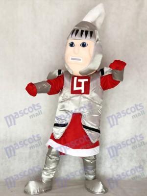 Caballero adulto de capa roja Disfraz de mascota personas