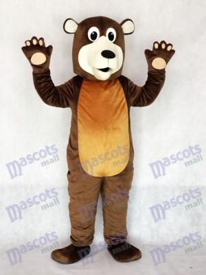 Abuelo oso pardo Disfraz de mascota