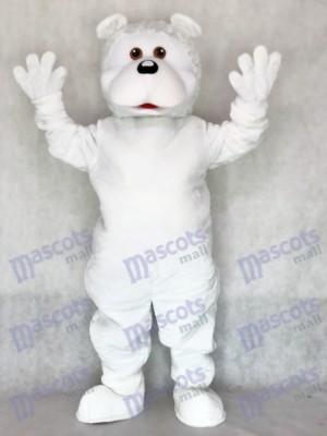 Oso blanco cómico adulto Disfraz de mascota personas