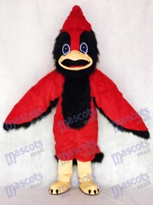 Lindo, gran pájaro rojo Disfraz de mascota animal