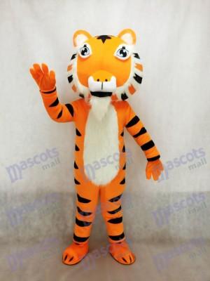 Lindo tigre amarillo de la India Disfraz de mascota animal