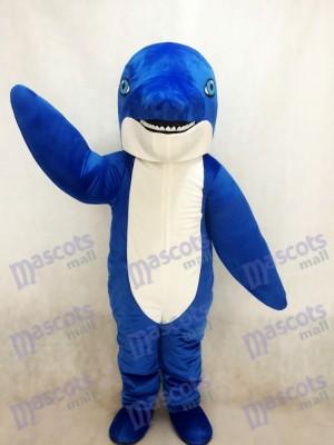 Nuevo delfín azul Disfraz de mascota animal