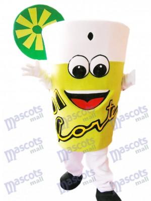 Deliciosa limonada Botella de bebida Disfraz de mascota