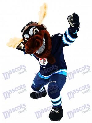 Mick E. Moose de los Winnipeg Jets Manitoba Alce Disfraz de mascota