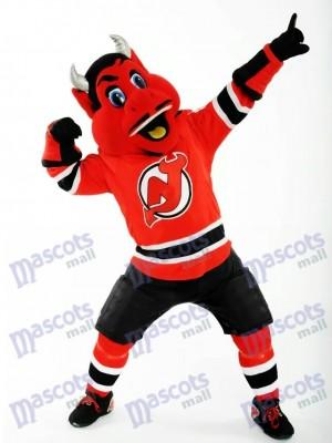 N.J. Diablo de los diablos de Nueva Jersey Disfraz de mascota