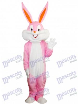 Conejito de Pascua rosa Disfraz de mascota Animal