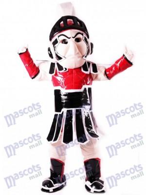 Caballero de Troya espartano rojo Sparty Disfraz de mascota personas