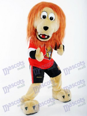 León Spartacat de los Senadores de Ottawa Disfraz de mascota animal