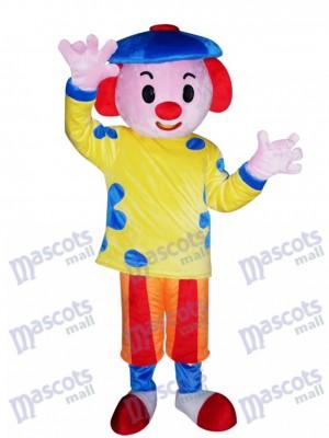 Chico con sombrero azul Disfraz de mascota