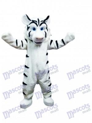 Tigre blanco Disfraz de mascota Animal