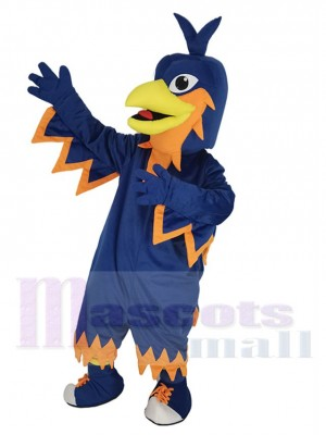 Azul oscuro Fénix Disfraz de mascota Animal