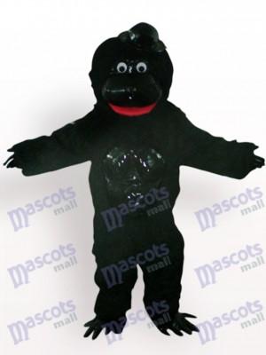 Orangután con sombrero negro Disfraz de mascota Animal