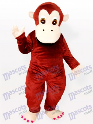 Precioso animal chimpancé Disfraz de mascota