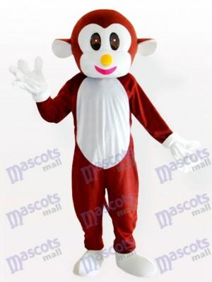 Marrón mono rebotante Disfraz de mascota Animal