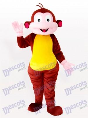 Mono que agita marrón Disfraz de mascota Animal