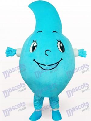 Fiesta de la gota de agua azul Disfraz de mascota