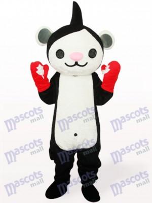 Miga negra Anime Disfraz de mascota