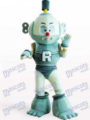 Fiesta Robot Azul Adulto Disfraz de mascota