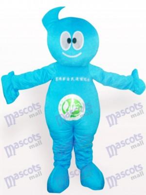 Muñeca Limpiadora Azul Disfraz de mascota