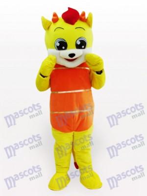 Fiesta de hadas de animales amarillos Disfraz de mascota