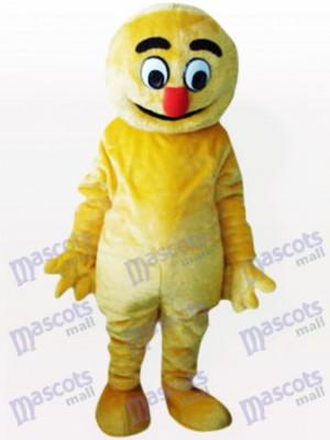 Hombre Boogie Amarillo Disfraz de mascota