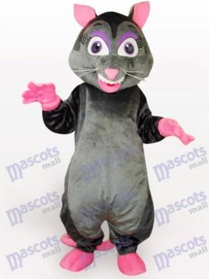 Ratón con nariz rosada Disfraz de mascota Animal