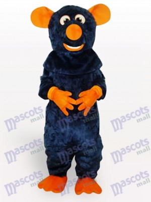 Ratón con nariz naranja Disfraz de mascota Animal
