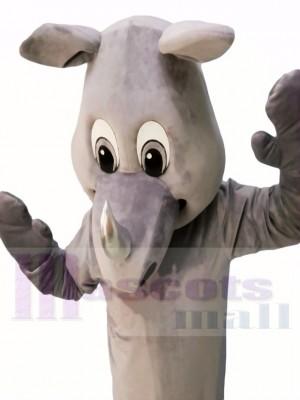 Rinoceronte realista de alta calidad Disfraz de mascota